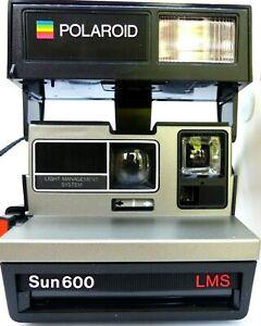 Polaroid Sun 600 LMS Instant Camera Inc Strap. (Film Tested)