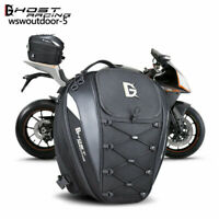 Motorcycle Rear Tail Seat Bag Saddle Cycling Waterproof Shoulder Travel Luggage