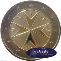 Pièce 2 euros annuelle MALTE 2016 - Croix Maltaise - Neuve, Qualité UNC