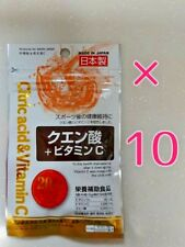 Daiso Japan Supplement Citric acid & Vitamin C made in japan 20day×10pac f/s