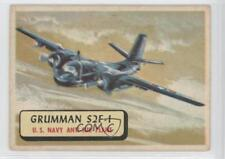 1957 A&BC Planes of the World Red Back #95 Grumman S2F-1 Non-Sports Card 0s4