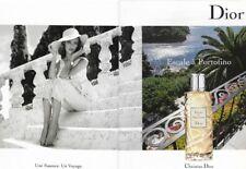 Publicité papier glacé - Escale à Portofino de Christian Dior 2 pages