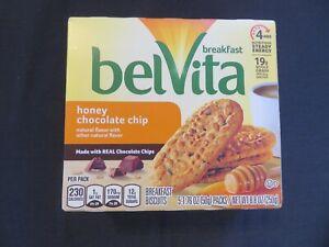 BelVita Breakfast Biscuits Honey Chocolate Chip 5 Packs / 8.8 Oz @7
