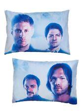 Supernatural Blue Background Poster 2 Pack Pillow Case Pillowcase Set NIP!