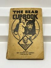 Vintage 1938 The Bear Cubbook Boy Scouts of America BSA Cubs Book Booklet