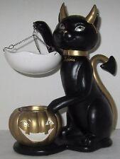 Yankee Candle 2016 Tart Wax Melts Warmer Spooktacular SOPHIA Black Cat Gold NEW
