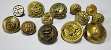 Nautical Vintage Uniform Button Lot