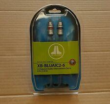 JL Audio XB-BLUAIC2-6 Premium ECS 6-ft RCA Audio Interconnect Cable * NEW
