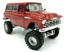 SO REAL CONCEPTS RED 1957 CHEVROLET SUBURBAN 1:24 SCALE MODEL TRUCK 1 OF 976