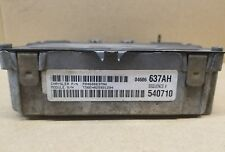 04606637AH 1999 DODGE STRATUS 2.4L I4 ENGINE CONTROL UNIT