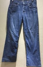 7 For All Man Kind Men's Size 32X31 Relaxed Jeans Medium Wash Button Fly Style