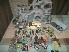 GI Joe Figure and Playset Lot Huge Modern