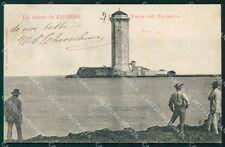 Livorno Città Torre del Marzocco cartolina KF2134