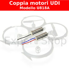 Coppia motori UDI per DRONE Quadricottero U818A 2,4Ghz hd video e foto