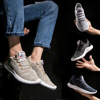 Mens Ultralight Casual Walking Athletic Mesh Shoes Breathable Running Sneakers