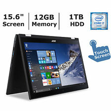 """NEW Acer Spin 3 Laptop 2-in-1 15.6""""  i7 12GB 1TB SP315-51-79NT Tablet Notebook"""