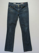JAG JEANS Mid Rise Regular Fit STRAIGHT STRETCH Size 14 BLUE DENIM EUC