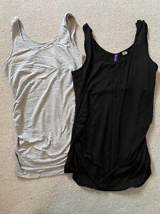 Seraphine maternity/nursing GREY vest top, size M