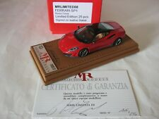 MR 1/43 FERRARI FERRARI SP1 SIGNED BY THE OWNER Code LIMITED08 n° 16/25  NO BBR