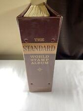 Stamp Vault - 2900+ Stamps!! *HUGE* Standard World Stamp Album By H.E. Harris