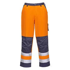 Portwest Hombre Lyon alta visibilidad pantalones Estándar Varios color y Tamaño