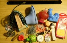 Junk Drawer Assorted Lot of Vintage Items Toys Collectibles Jacks Electric Iron