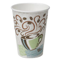 Dixie PerfecTouch Hot Cups Paper 8oz Coffee Dreams Design 50/Pack 5338CDPK