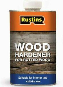 Rustins Wet Rot Wood Hardener best High Performance  Interior & Exterior 250ml