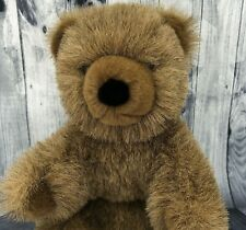 Vintage 70s Gund Collectors Classic Limited Edition Brown Teddy Bear Plush