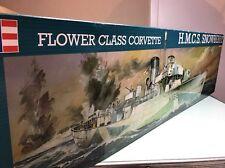 revell 1/72 05061 flower class corvette h.m.c.s. snowberry model ship kit (2)