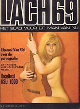 MAGAZINE DE LACH 1968 nr. 47 - VAN KOOTEN & DE BIE/PATTY VAN MES/NSU 1000