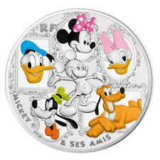 50 Euro Silber - ©Disney - MICKEY AND FRIENDS - Frankreich 2018 PP
