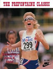 >Sharp 1994 Steve PREFONTAINE CLASSIC PROGRAM Pre Classic ANNETTE PETERS Cover