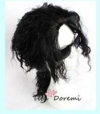 Halloween Michael Jackson Black Curly Fashion Party Cosplay Wig Heat Resistant