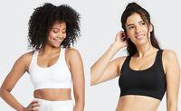 Women's Medium Support Seamless Racerback Bra -All in Motion -Various Sizes-S716