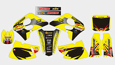 FMF SUZUKI RM 125-250 1993-1995 (fit 1994 RM 125) DECAL STICKER GRAPHIC KIT