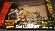 Dinosaur valley control centre action figure play set