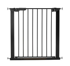 BabyDan Premier True Pressure Fit Baby Safety Stair Gate Black73.5 - 79.5cm NEW