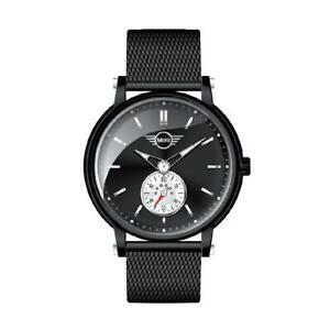 Womens Wristwatch MINI MI-2316L/05M Stainless Steel Mesh Black SWISS Movement