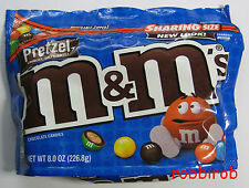 (100 gr = 3,31 €) M&M´s PRETZEL im sharing size bag +++ 226,8 gr  +++