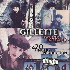 On the Attack [PA] by Gillette (CD, Dec-1994, Zoo/Volcano Records)
