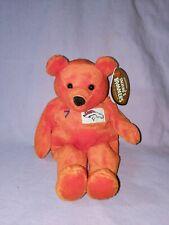 Salvino's Bammers Denver Broncos John Elway $7 Orange Beanie Bear Plush NWT