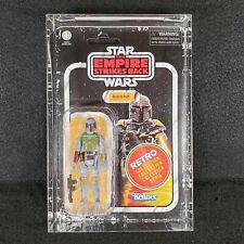 Star Wars Boba Fett Kenner Vintage Retro Collection Error Variation W/ Protector