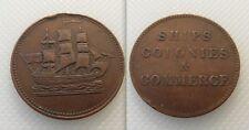 Collectable Ships Colonies & Commerce Trade Token / Coin