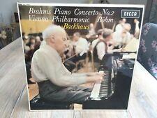SXL 6322 WBg ED1*BACKHAUS*BOHM*BRAHMS PIANO CONCERTO NO.2*