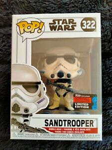 New Sealed Funko Pop Vinyl Star Wars Sandtrooper 2019 NYCC Edition RARE 322