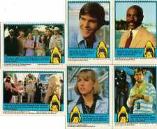 Jaws 3-D Trading Cards Full 44 Card Set from Topps - released in 1983