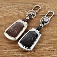 5 Button Metal Key Holder Sheel Case Bag For Cadillac ATS XTS XT5 CT6 SRX CTS