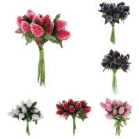 A bunch Strawberry Artificial Foam Glass Crafts Simulation Flower Home Decor