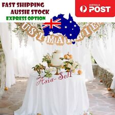 Wedding Decoration 2m JUST MARRIED Wedding Card Banner Bridal Shower Party